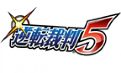Ace Attorney 5 logo head
