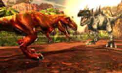 Combat de geants dinosaures 3D head 2