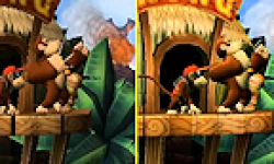Donkey Kong Country Returns 3D logo vignette 10.05.2013.