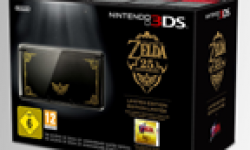 Legend of Zelda 25 Anniversaire console hardware 3ds head 2