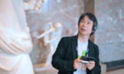 Louvre Nintendo 3DS head