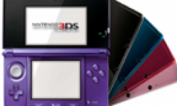 Nintendo 3DS Console Mauve Midnight Purple head 1