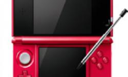 Nintendo 3DS Metallic Red Japon head