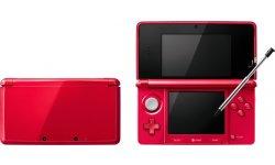 Nintendo 3DS Metallic Red Japon