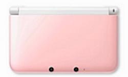 Nintendo 3DS XL Pink White logo vignette 29.08.2012