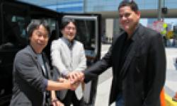 Nintendo E3 2012 Reggie Fils Aimé Satoru Iwata head