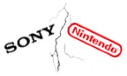 Nintendo Sony Clash head