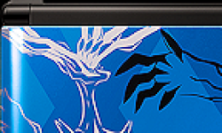 Pokemon X et Y Nintendo 3DS Xerneas Yveltalse blue logo vignette 04.07.2013.