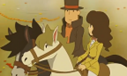 Professeur Layton Masque Miracles head 8