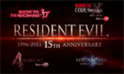 Resident Evil 15 Anniversaire head