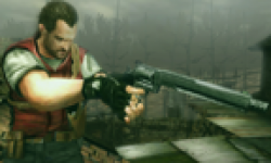 Resident Evil The Mercenaries 3D Barry Burton head 2