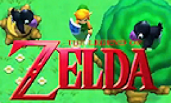 The Legend of Zelda 3ds Link to the Past 2 logo vignette