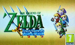 The legend Of Zelda Four sword Anniversary Edition nintendo vignette logo