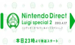 Vignette head Nintendo Direct Luigi