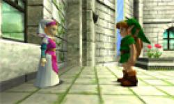 vignette icone head screenshot capture zelda ocarina of time 3d nintendo 3ds link
