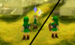 Zelda Ocarina Of Time 3d Nintendo 3ds master quest 13 mai 2011 logo