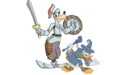 Kingdom Hearts kh knight goofy