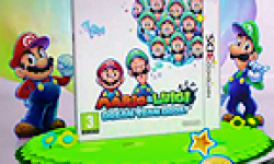 Mario & Luigi Dream Team Bros logo vignette 10.07.2013.