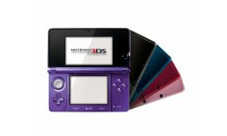 Nintendo 3DS Console Mauve Midnight Purple 2