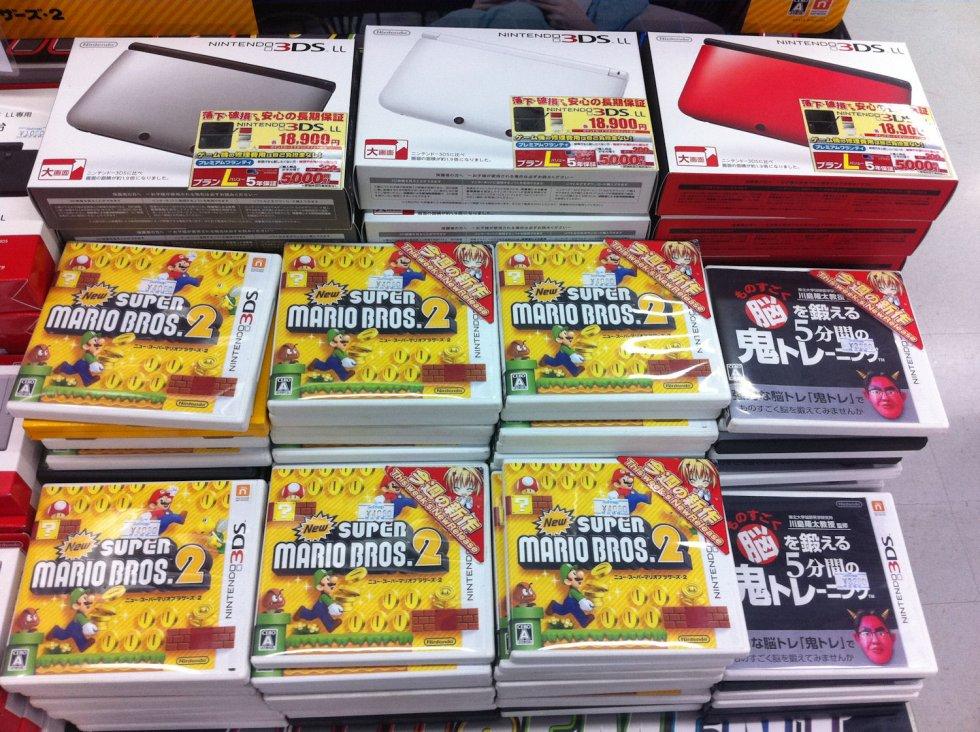 Image Sortie Nintendo 3DS XL Japon New Super Mario Bros 2
